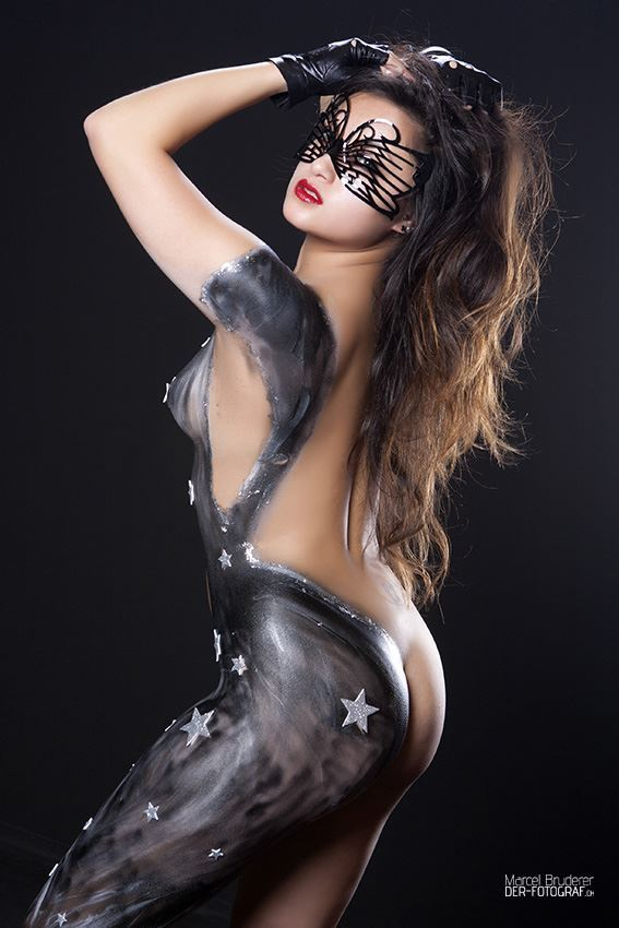 Bodypainting Fotoshooting
